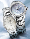 Mini Link 24mm Diamond Dial and Diamond Dial Diamond Bezel