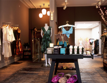KJ's Laundry's boutique at 74 Marylebone Lane in London