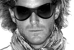 Lapo Elkann in sunglasses from his I.I. collection - Wayne Maser