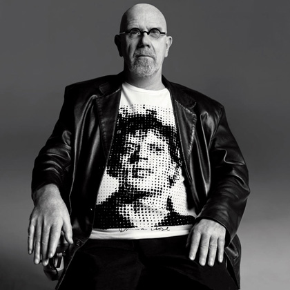 T-shirt designed by Chuck Close ($28)