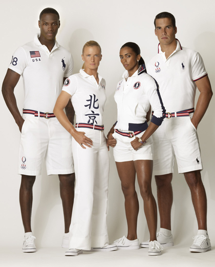 Polo Ralph Lauren Exclusive Parade Outfitter of 2008 U.S. Olympic Team in Beijing | Fashion Trendsetter