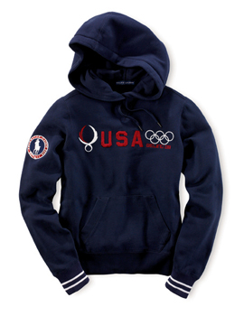 Polo Ralph Lauren Exclusive Parade Outfitter of 2008 U.S. Olympic Team in Beijing
