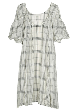 Stella McCartney Giant Check Tunic Dress