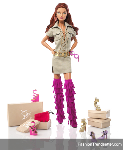 Christian Louboutin Barbie Gets Another High Fashion Makeover Fashion Trendsetter