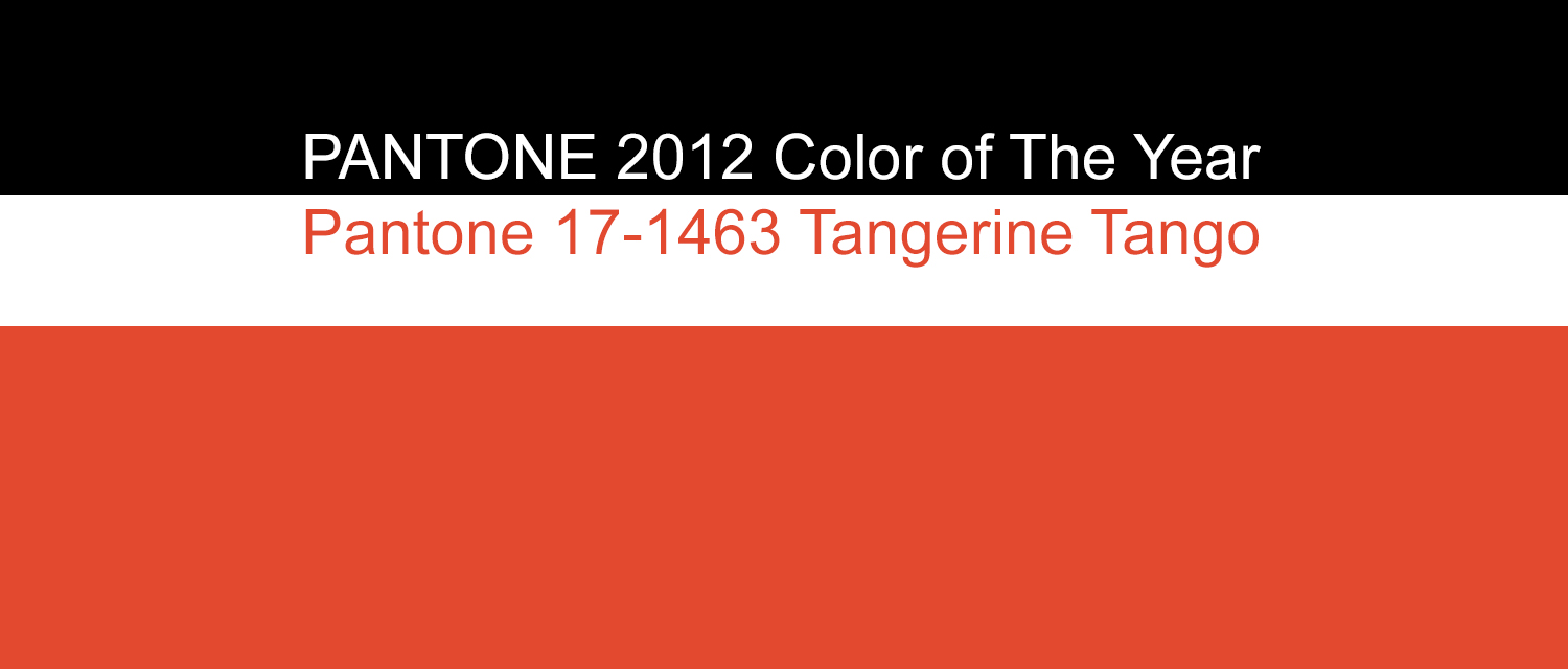 Pantone Color Of The Year 2012 pantone 2012 color of the year: pantone 17-1463 tpx tangerine