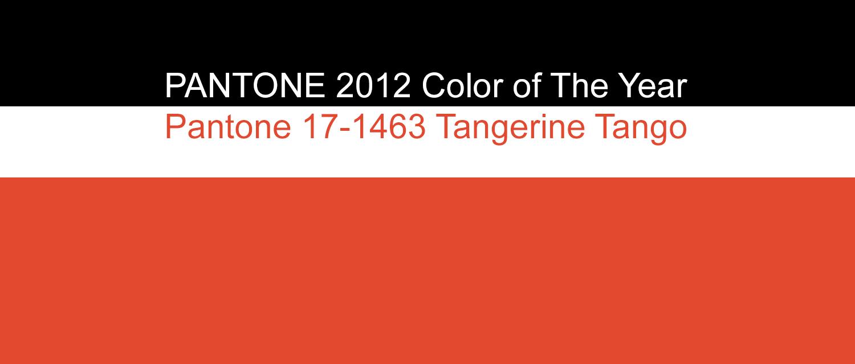 PANTONE 2012 Color of the Year: PANTONE 17-1463 TPX Tangerine ...