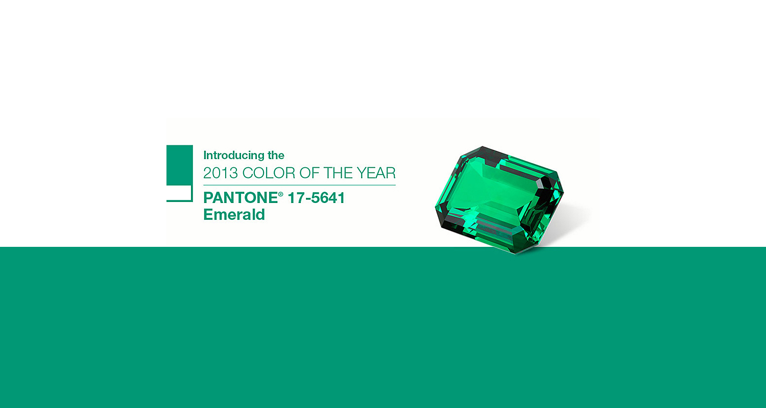 Pantone Reveals Color Of The Year For 2017 17 5641 Emerald Fashion Trendsetter