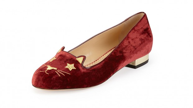 Charlotte Olympia cat slipper.