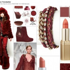 Pantone Color of the Year for 2015: PANTONE 18-1438 Marsala Pinterest Board