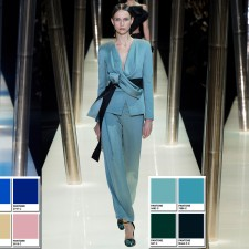 Armani Prive Spring 2015 Couture Collection Color Codes