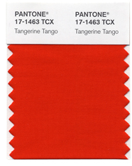 PANTONE 2012 Color of the Year: PANTONE 17-1463 TPX Tangerine Tango