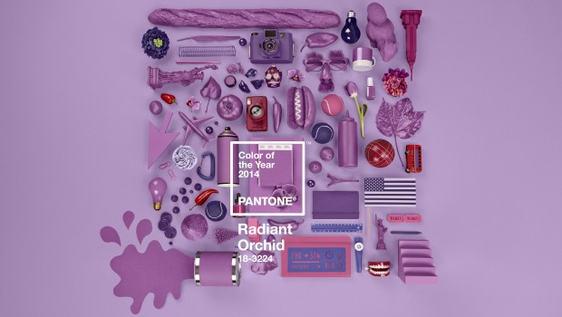 Pantone Color of the Year for 2014: PANTONE 18-3224 Radiant Orchid