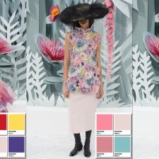 Chanel Spring 2015 Couture Collection Color Codes