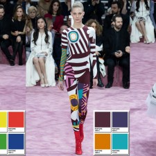 Christian Dior Spring 2015 Couture Collection Color Codes