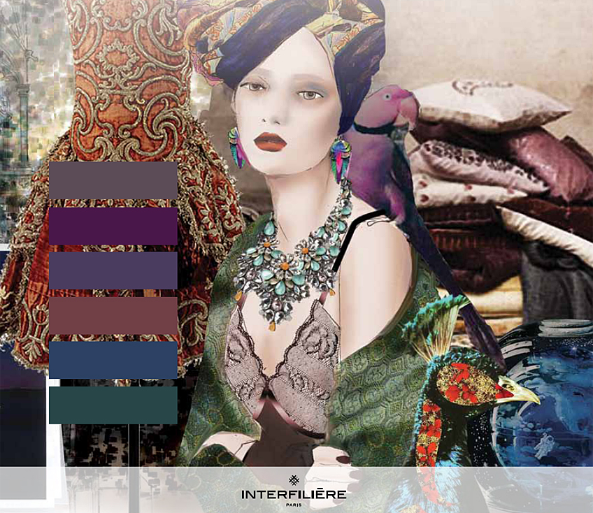 Key Theme III: Sumptuous - Interfilière Fashion & Color Trends Autumn/Winter 2014/15