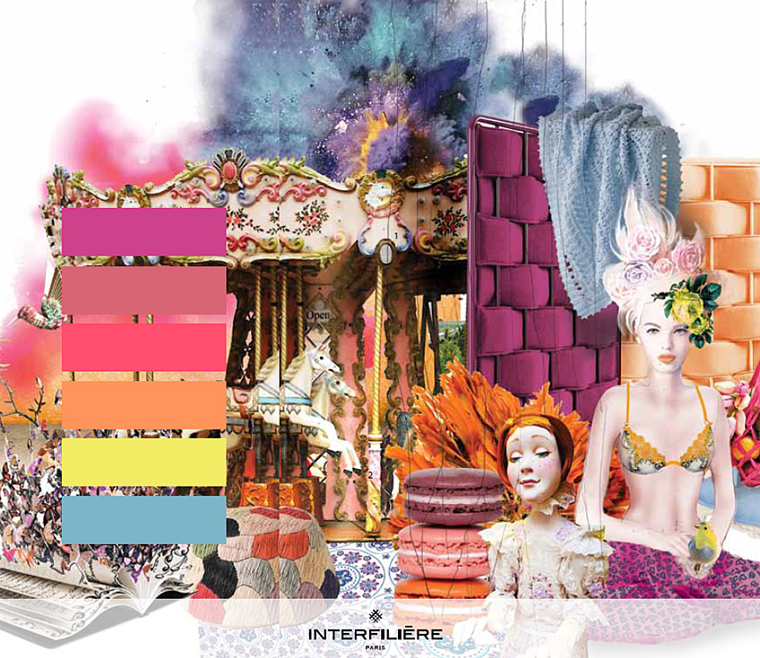 Key Theme IV: Playful - Interfilière Fashion & Color Trends Autumn/Winter 2014/15