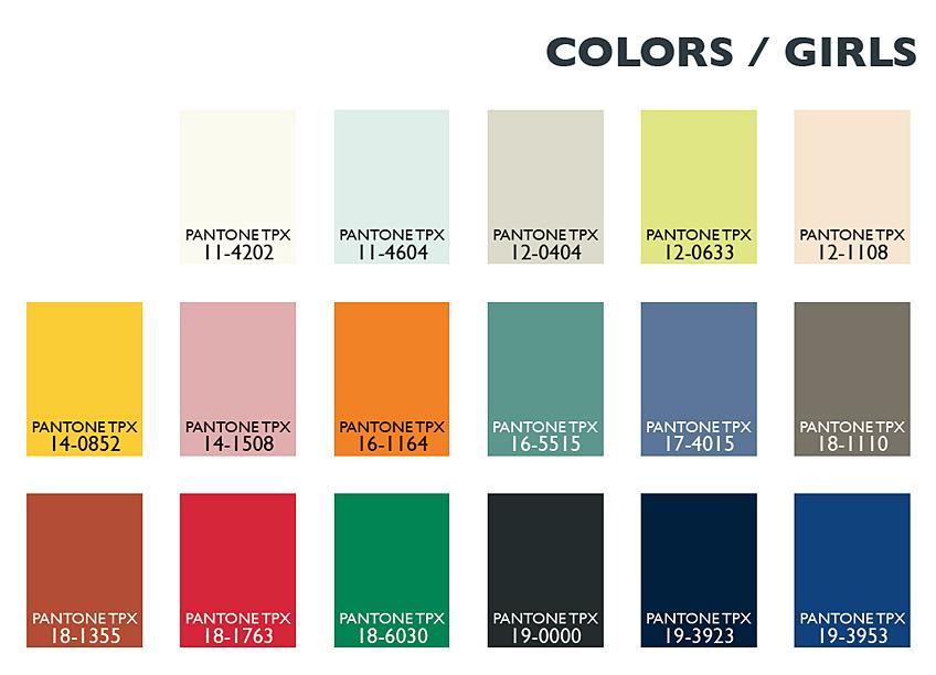 Color Usage Kids / Girl