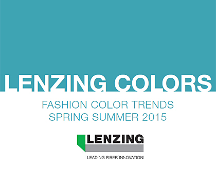 Lenzing Color Trends Spring/Summer 2015