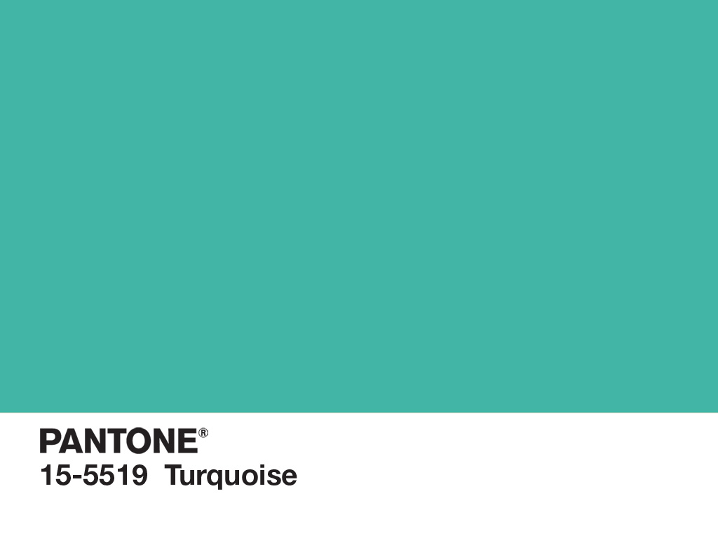 Pantone color of the year for 2010 pantone 15 5519 for Turquoise colour images