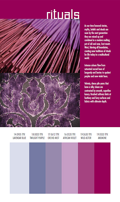 SpinExpo Autumn/Winter 2014/2015 Fashion & Color Trends V
