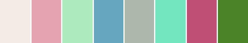 PANTONEVIEW Home + Interiors 2015 Key Trend Palettes Past Traces