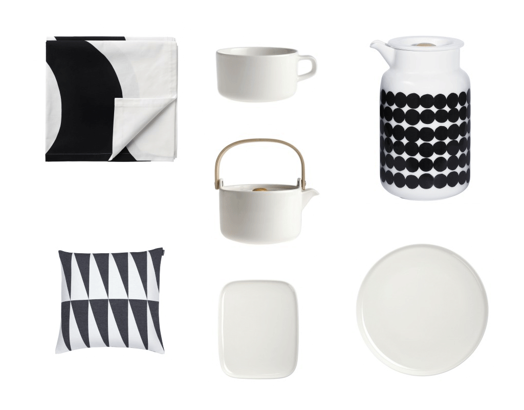 Black u0026 White Inspired Tablesetting by Marimekko  sc 1 st  Fashion Trendsetter & Black u0026 White Inspired Tablesetting by Marimekko u2039 Fashion Trendsetter