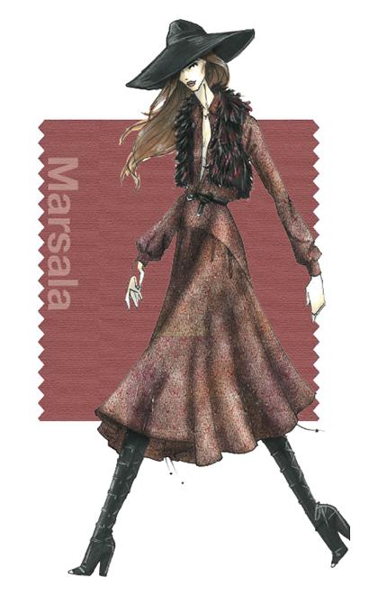 DESIGNER: REBECCA MINKOFF, Image courtesy of PANTONE