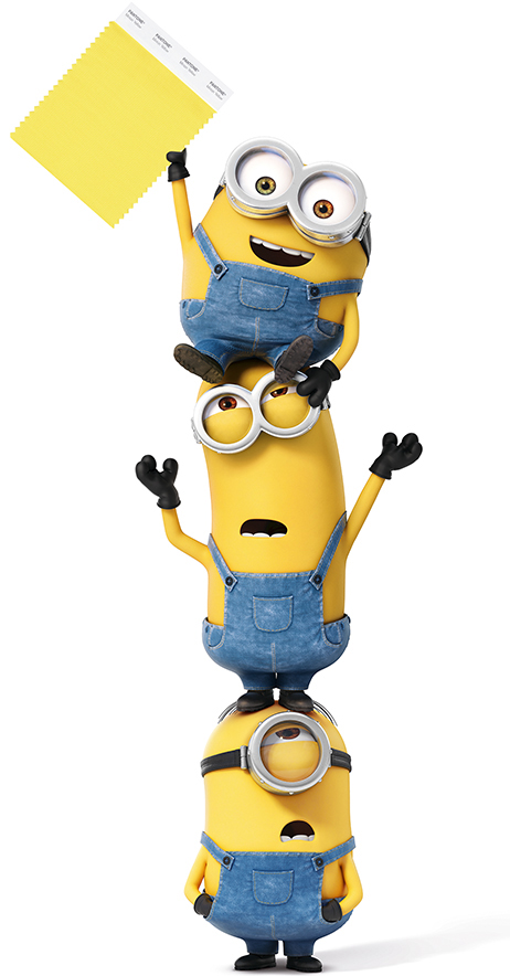 Pantone-Minion-Yellow-Minions