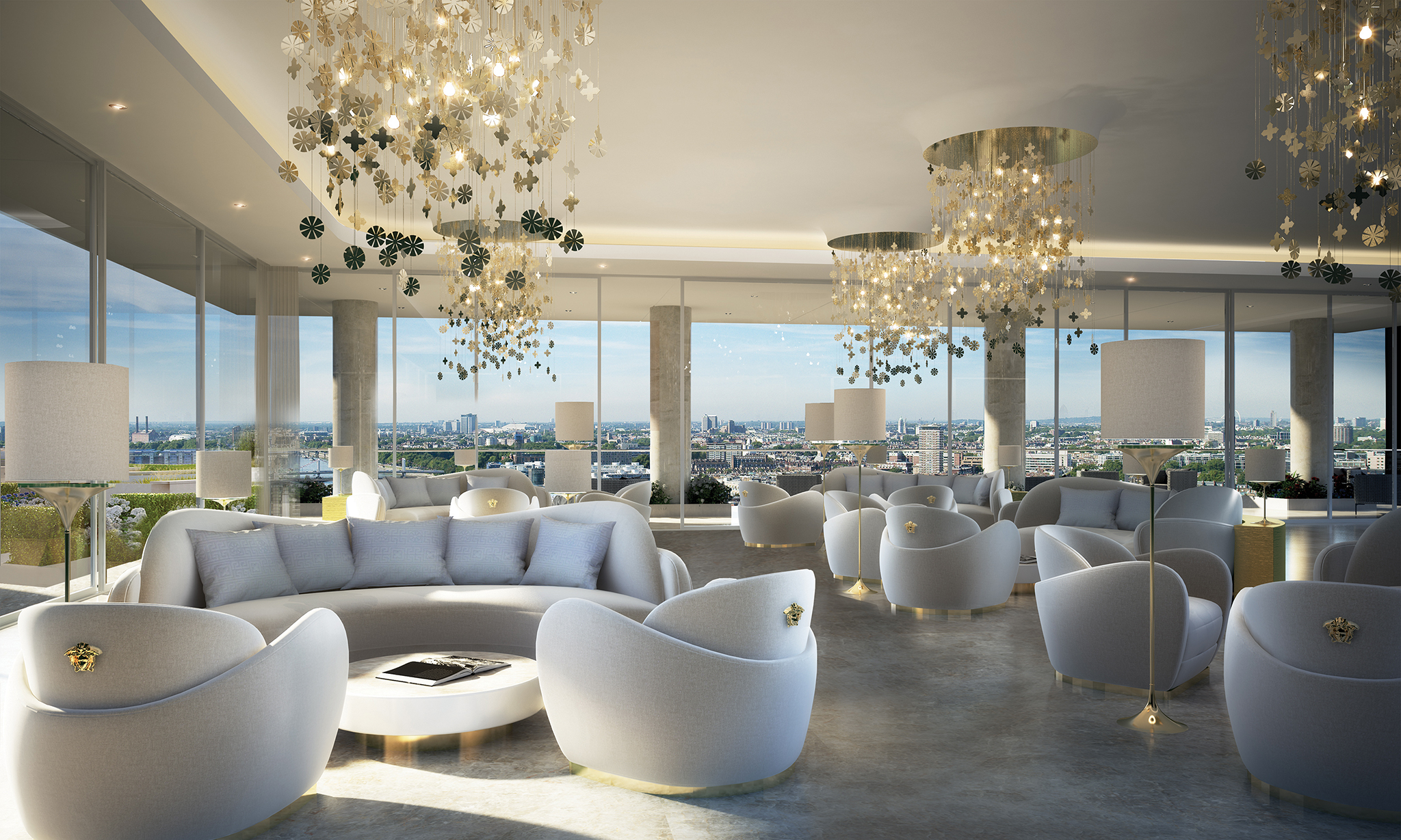 50 storey aykon nine elms to feature interiors by versace for Homeinteriors