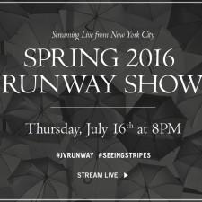 John Varvatos Spring 2016 Collection Runway Show