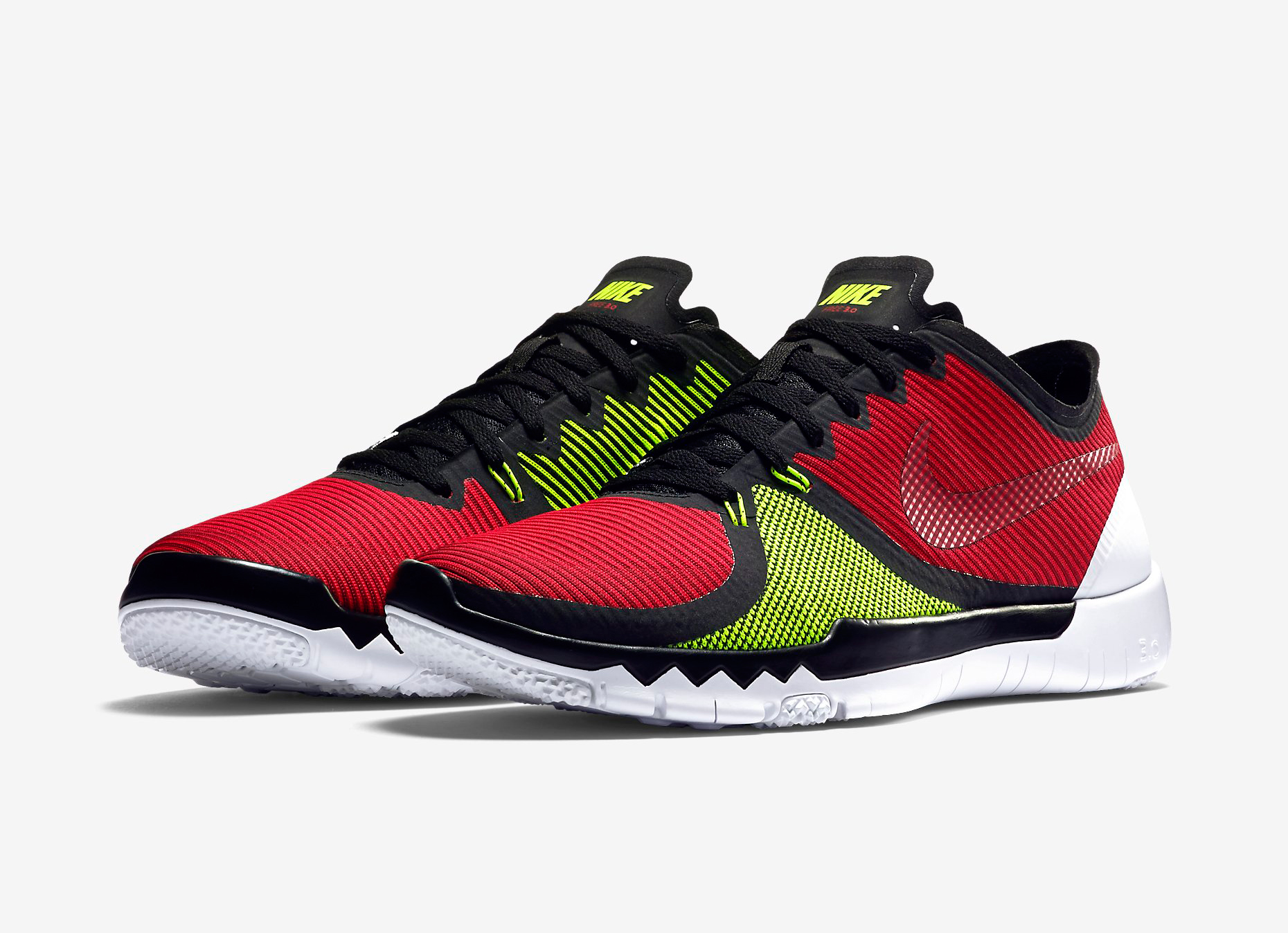 048ed18b9aa60 The Nike Free Trainer 3.0 V4 Men s Training Shoe features new circular-knit  technology for superior lateral control and a responsive fit.