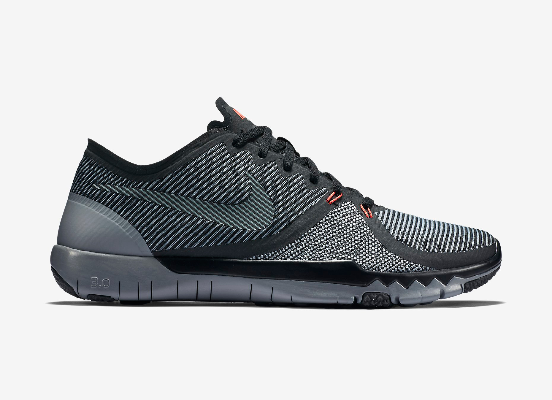 Nike Free Trainer 3.0 V4 Black/Cool Grey J10f3536