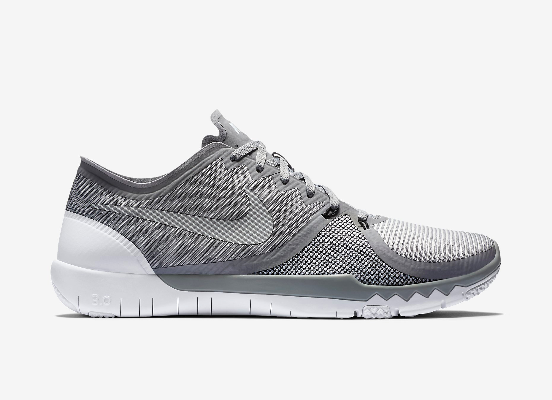 nike mens free 3.0 trainers - black&white house