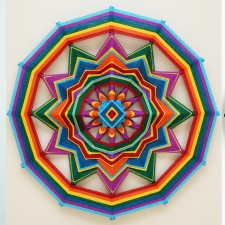 Ojos de Dios Mandala Artworks by Jay Mohler