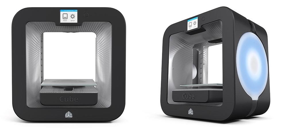 The-Cube-3D-printer