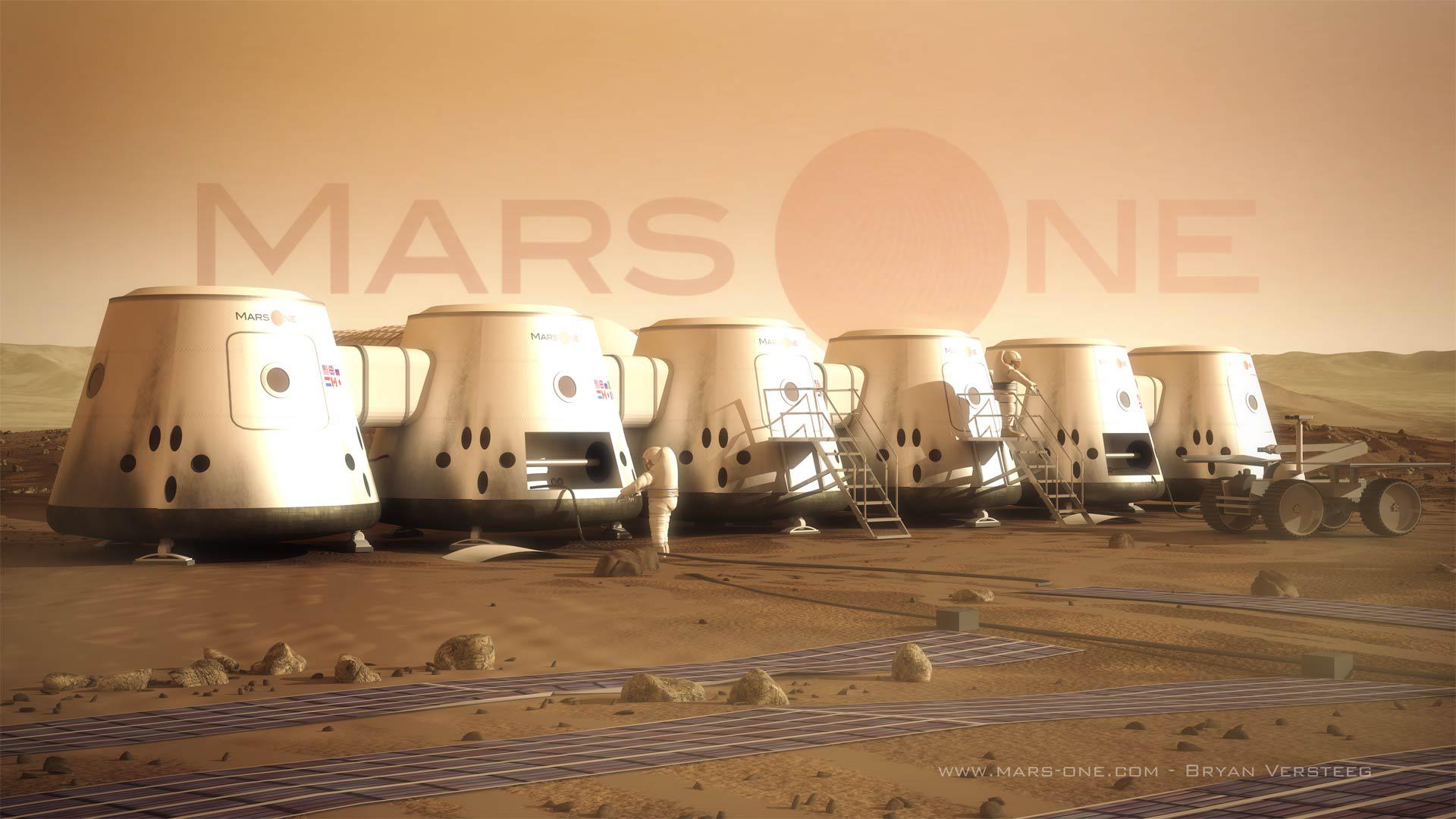 Credits: Mars One, Bryan Versteeg.