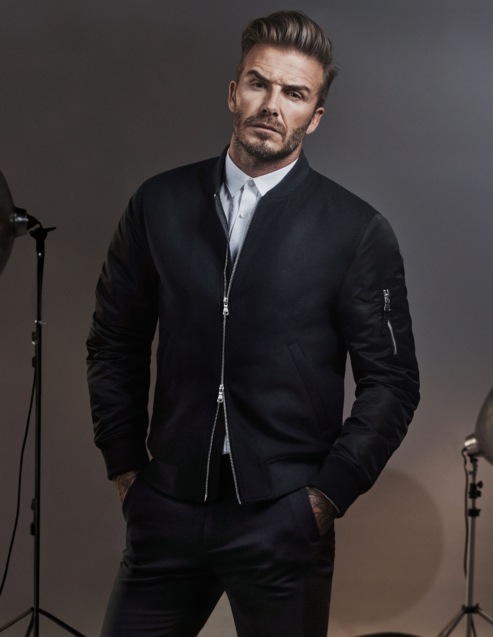 David Beckham and Kevin Hart Star in New H&M Campaign ... David Beckham