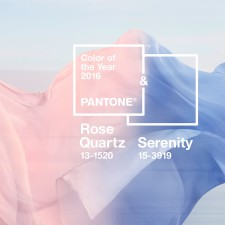 Pantone Color of the Year for 2016: ROSE QUARTZ & SERENITY