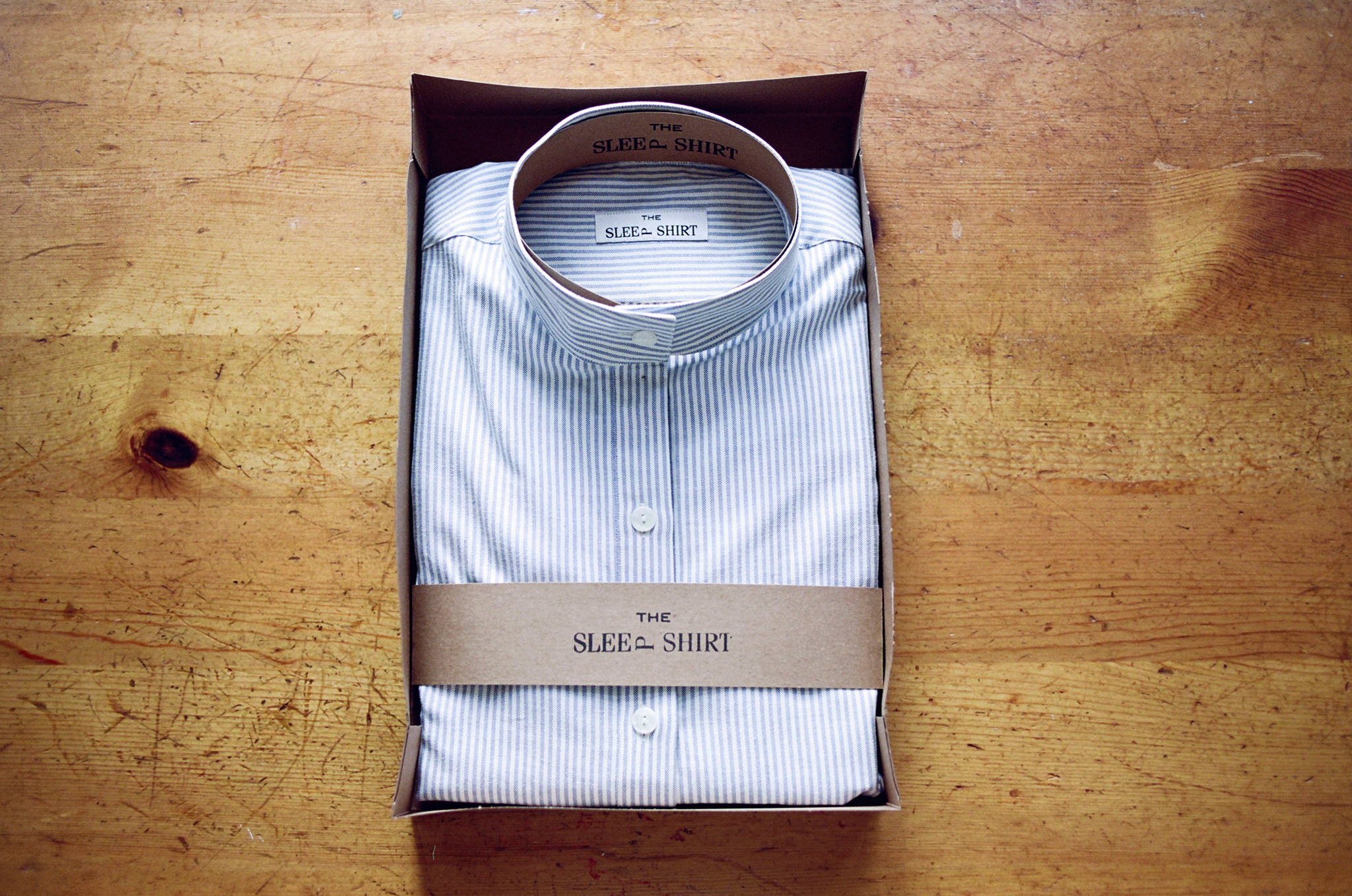 Short-Long-Sleep-Shirt-Blue-Oxford-Stripe-01