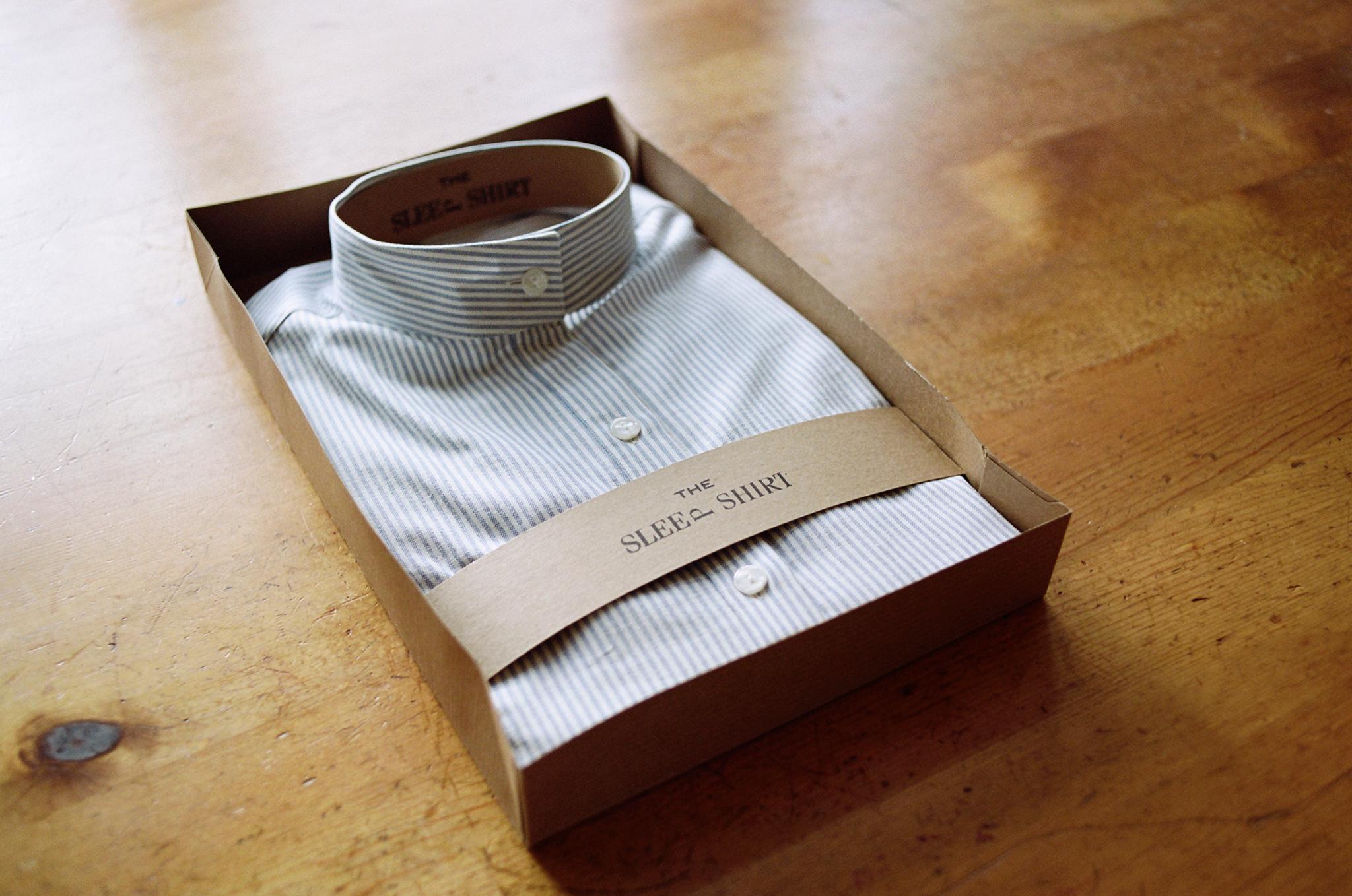 Short-Long-Sleep-Shirt-Blue-Oxford-Stripe-02