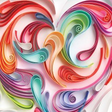 New 2016 Love Stamp Showcasing Stunning 3-D Artwork Captures Intricate Art of Quilling