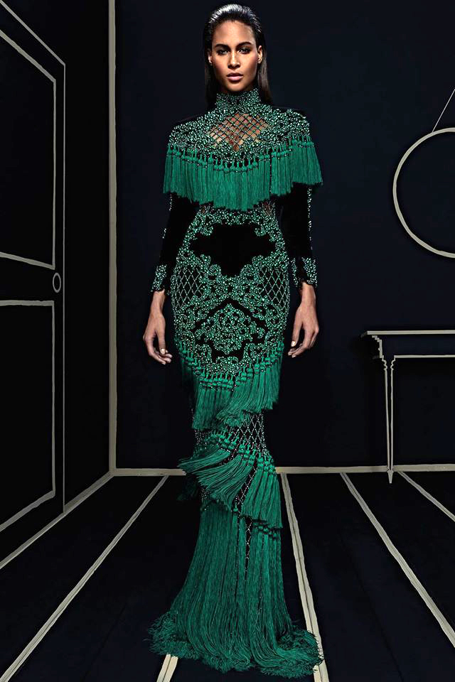 For His 2016 Pre Fall Collection Balmain S Creative Director Olivier Rousteing Was Inspired By The Rich Colors And Extraordinary Craftsmanship Of