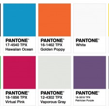 ISPO Color Palette Fall/Winter 2017/2018