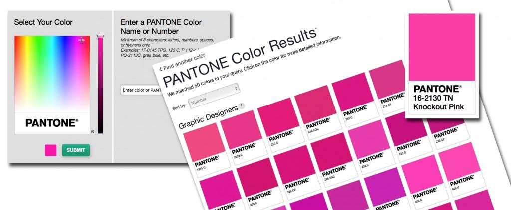 the new pantone color finder  u2039 fashion trendsetter