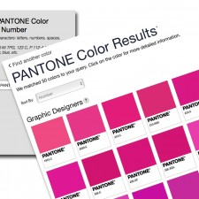 The New PANTONE Color Finder