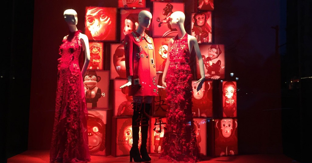 Bergdorf Goodman S Window Displays New York February 16 Fashion Trendsetter