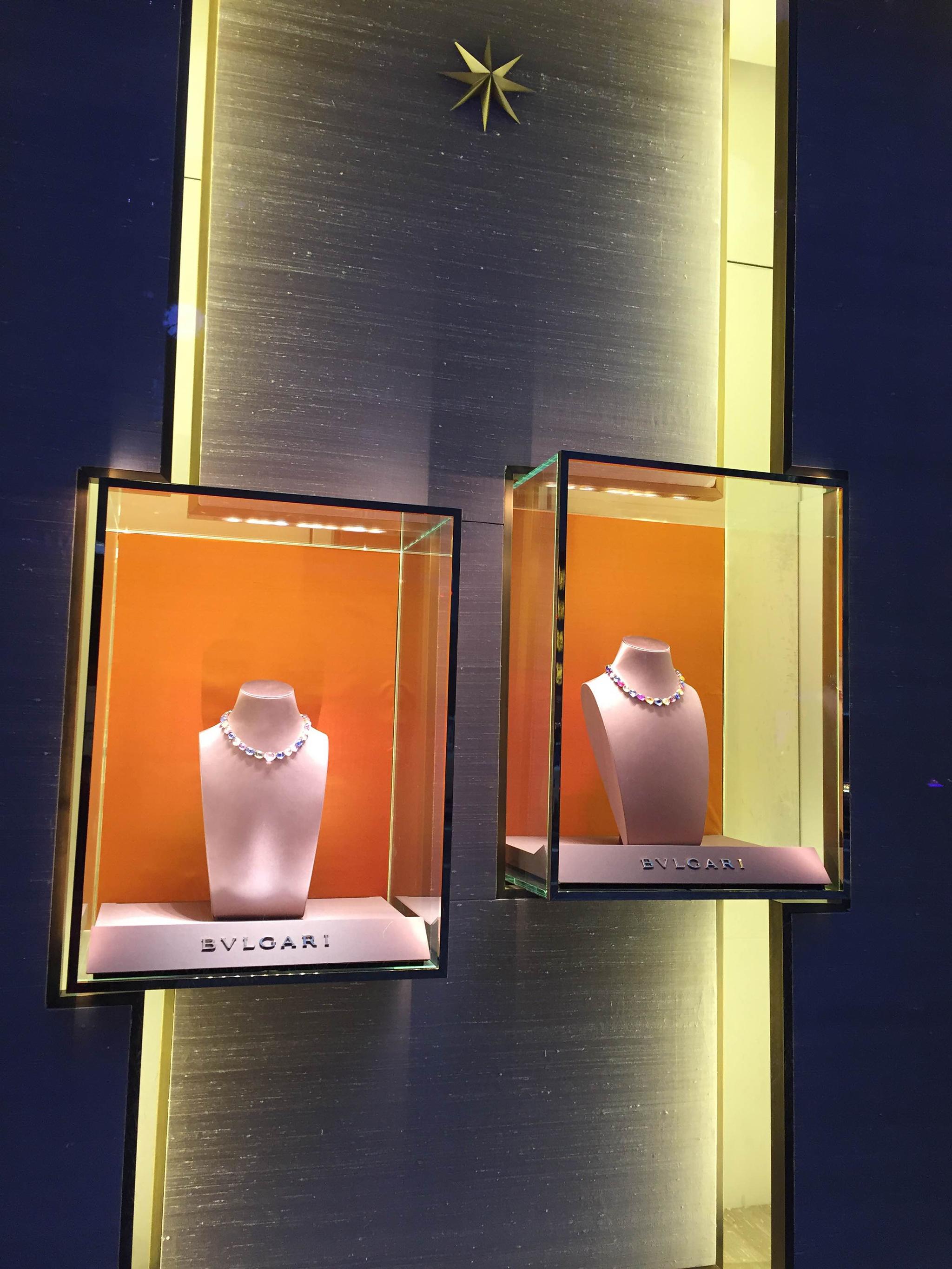 Bvlgari S Window Displays New York February 16