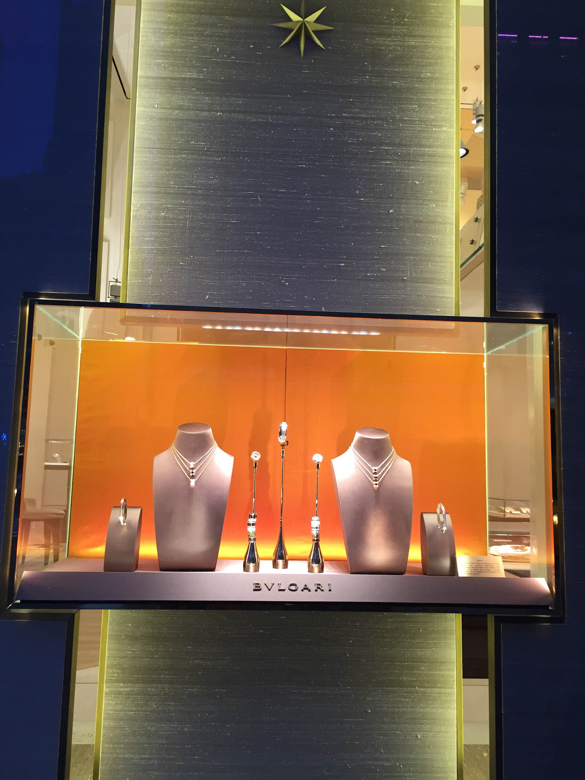 Bvlgari S Window Displays New York February 16