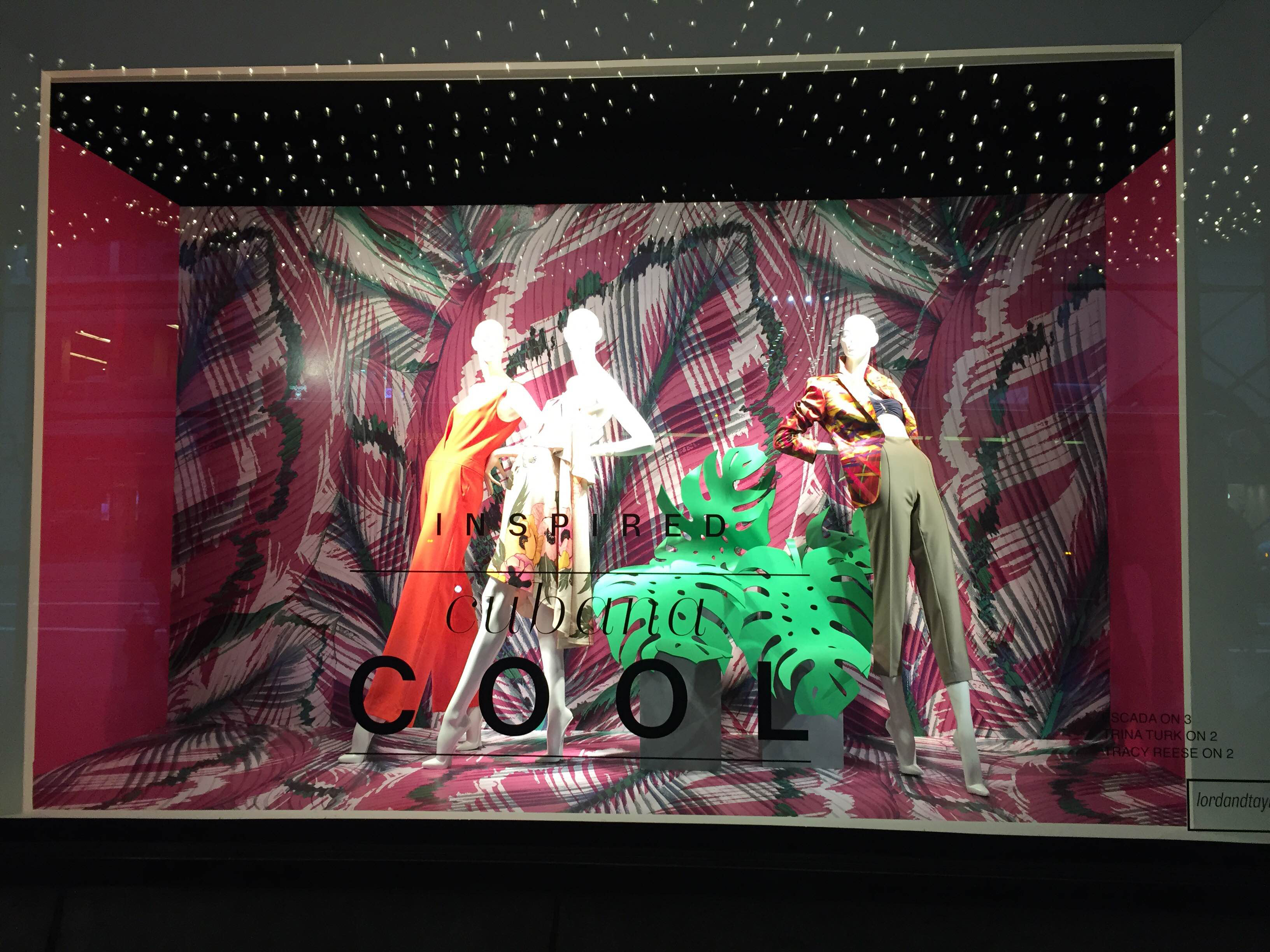 Lord Amp Taylor S Window Displays New York February 16
