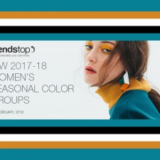 Autumn/Winter 2017/2018 Women's Seasonal Color Forecast by Trendstop